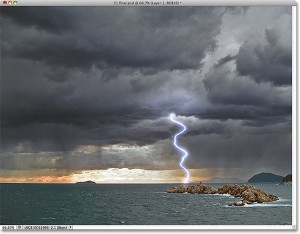 Lightning Effect Example